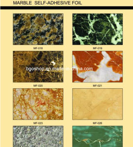 Marble Self-Adhesive Vinyl/Foil (Cabinet & Wall Sticker) pictures & photos