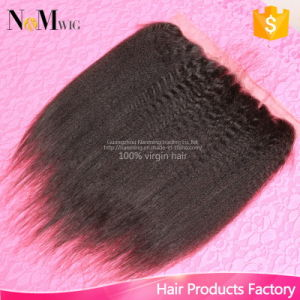 130% Density 13X4 Inches Style Human Hair Accessories Brazilian Lace Frontal Closure pictures & photos