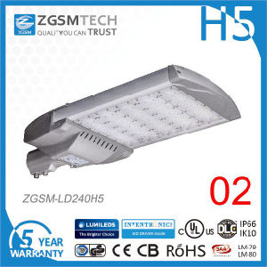 240W IP66 LED Street Lamp with 3030 2D Cheap LEDs pictures & photos