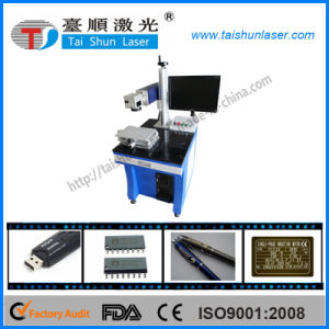 Desktop 20W Fiber Laser Marking Machine for Hardware, Metal Crafts pictures & photos