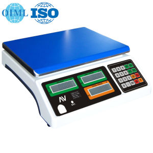 OIML Approved Electronic Price Scale (LPPN) pictures & photos