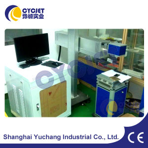 Industrial Stationary Green Laser Marking Machine pictures & photos