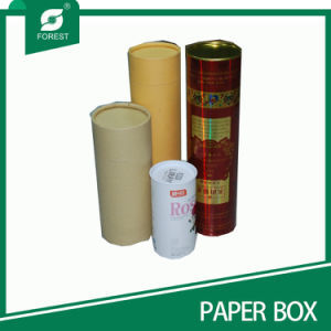 Custom Cardboard Paper Tube Tin Tube with Lid pictures & photos