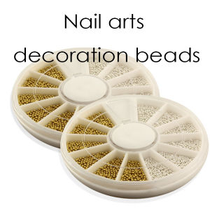 Nail Decoration Silver Golden Beads Balla Decoratin pictures & photos