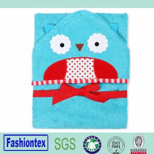 Wholesale Baby Beach Towels Bamboo Child Hooded Towel pictures & photos