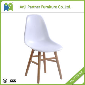 PP Relaxing Dining Room House Chair with Solid Wooden Legs (Hilda) pictures & photos