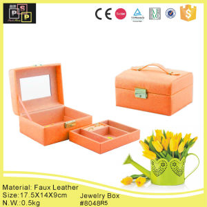 Lether Jewelry Box Manufacturers China (8048R8) pictures & photos