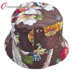 Floral Style with The Fashion Women′s Bucket Hat pictures & photos