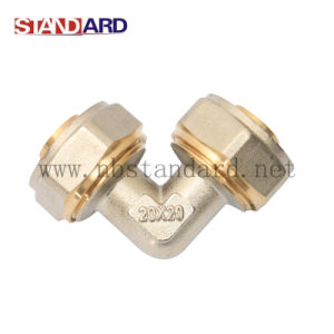 Brass Fittings for Pex-Al-Pex Pipe/Compression Fitting/Male Tee Fitting/Copper Fitting pictures & photos