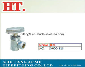 Chrome Plating Forged Zinc Handle Brass Angle Valve pictures & photos