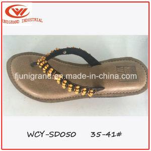 High Hedge Heel Women Slipper Sandals pictures & photos
