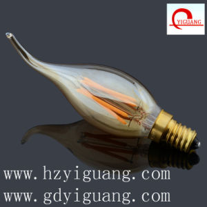 New Color Amber Filament LED Light C35 pictures & photos