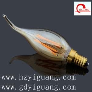 New Color Amber Filament LED Light C35