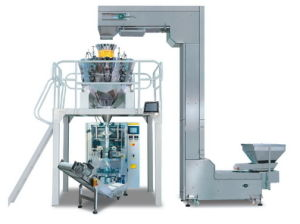 Full-Automatic Biscuit Weighing Packing System Jy-420A pictures & photos