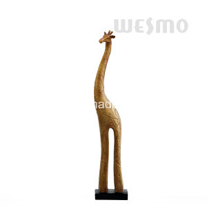 Polyresin Giraffe Tabletop Sculpture (WTS0006A) pictures & photos