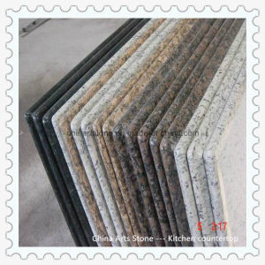 Chinese White/Grey/Yelllow Granite Marble Kitchen Countertop for Hotel pictures & photos