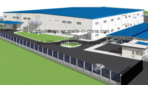 Steel Frame Industrial Factory for Sale pictures & photos