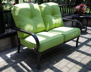 Comfortable Chat Sofa Set Outdoor Furniture Sectional Sofa Loveseat 4PCS Conversational 6 People Seating Patio Furniture Chat Group pictures & photos