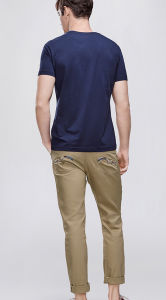 Wholesale Men′s Short Sleeve T-Shirt with Printing pictures & photos