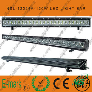 120W LED off Road Light Bar for Truck off Road Driving pictures & photos