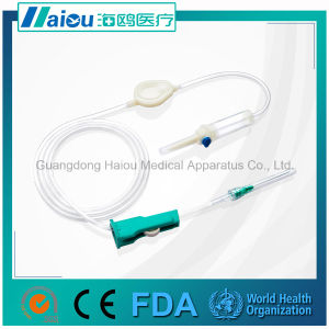 Disposable Precision Infusion Set with Needle Luer Slip pictures & photos