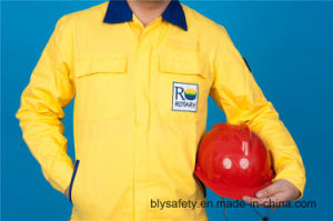 65% Polyester 35%Cotton High Quality Long Sleeve Safety Cheap Workwear Suit (BLY2008) pictures & photos