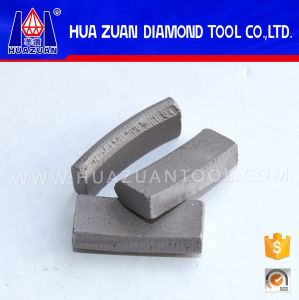 Diamond Segment with Roof Top Shape pictures & photos