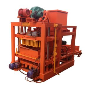 Concrete Hollow Block-Forming Machine/Solid Brick Making Machine in Nigeria pictures & photos