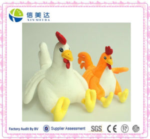 2016 New Style Christmas Sweet Candy Plush Chicken Toy pictures & photos