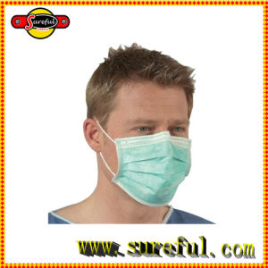 Healthy Care Non Woven 3 Layer Face Mask pictures & photos