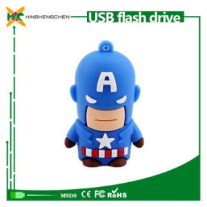 Captain America USB Flash Drive Cartoon pictures & photos