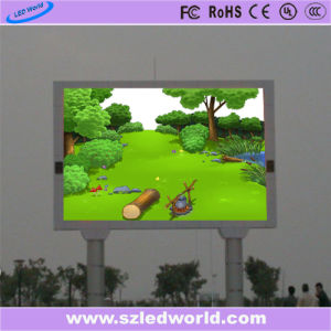 Outdoor/Indoor High Brightness Full Color Fixed Screen LED Display Panel for Video Wall Advertising (P5, P6, P8, P10, P16) pictures & photos