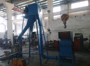 Waste Rubber Coarse Crusher with Cyclone pictures & photos