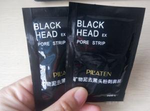 Pilaten Black Head Ex Pore Strip Nose Mask Remove Blackhead Acne Minerals Conk Black Mud Mask Peeling off Nose Mask pictures & photos