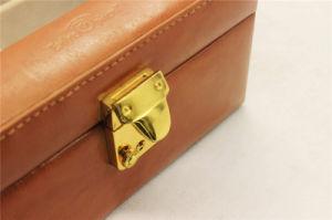 Window Luxury Design PU Leather Sunglass Storage Box pictures & photos