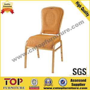 Hotel Curve Cushion Metal Banquet Chair pictures & photos