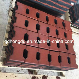 Interlock and Square Type and Dog Bone Rubber Tile pictures & photos