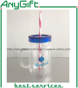 Plastic Mason Cup with Customized Color and Logo pictures & photos