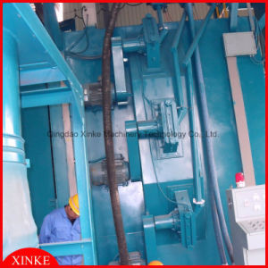 Hook Type Shot Blasting Machine for Cleaning Metal Surface pictures & photos
