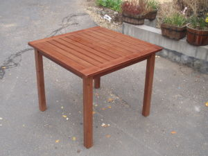 Outdoor Gargen Picnic Rectangle Square Table with Different Size pictures & photos