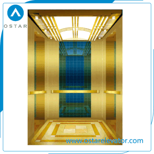 Machine Roomless 1000kg Elevator Luxurious Decoration Passenger Lift pictures & photos