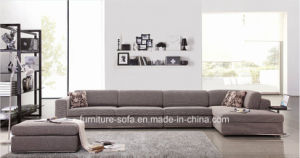 Chinese Style Furniture Living Room Fabric Sofa Set (SO16)