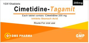 Cimetidine Tablet 200mg Inhibits Stomach Acid pictures & photos