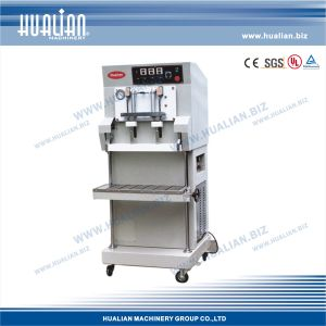 Hualian 2015 Gas Extracting Packaging Machine (DZQ-900L/S) pictures & photos
