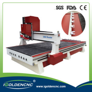 Linear Type Atc Wood Engraving Machine for Wooden Furniture pictures & photos