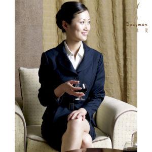 Women′s Wool Cashmere Suit (BM-09)