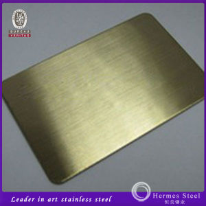 New Products Satin Bronze Stainless Steel Sheets Free Sample pictures & photos