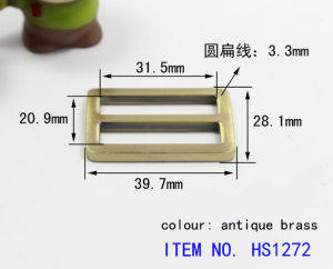 Zinc Alloy Buckle for Coat pictures & photos
