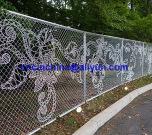 Chain Link Fence with Drawing pictures & photos