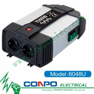 6048u 1500W Pure Sine Wave Inverter+USB pictures & photos
